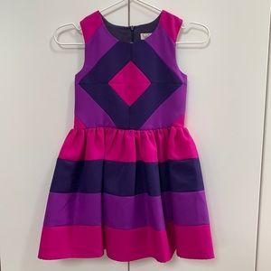 Halabaloo Girls Geometric Dress - Size 6